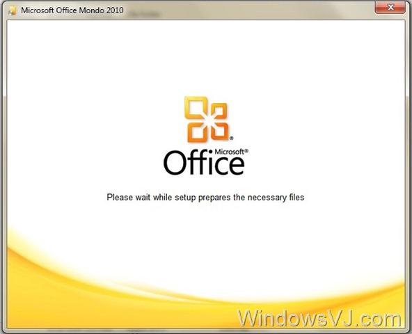 Office 2010 build 4417 Installation Screenshots